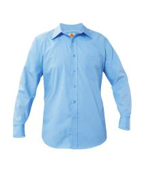 Adult Long Sleeve Oxford