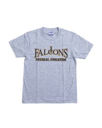 Adult Short Sleeve PE Tee Shirt With Immaculate Conception School Logo