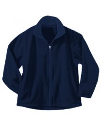 Youth Full Zip Fleece With Immaculate Conception Fort Smith Logo