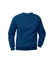 Adult Crewneck Sweatshirt With Johnson's Montessori School Logo