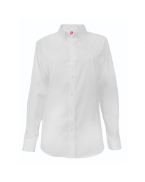 Ladies Long Sleeve Oxford Blouse